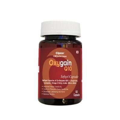 Oxygain Q-10 Softgel Heart care Capsule