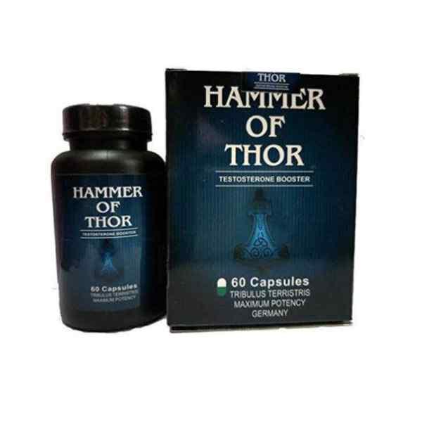 Hammer Of Thor 60 capsule